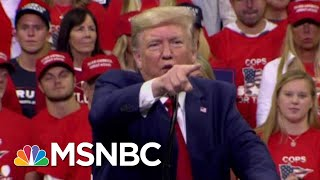 Unpaid Bills Pile Up In The Wake Of President Donald Trump Rallies | All In | MSNBC