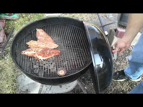 Video Blackened catfish po boy