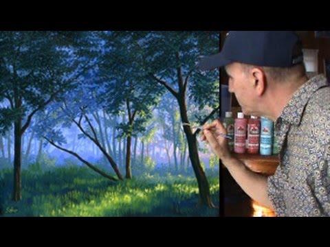 วิธีการ ในการวาด หมอก ป่า การใช้