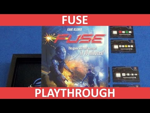 FUSE | Board Game | BoardGameGeek