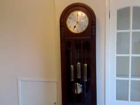 Westminster Chime Longcase Grandfather Clock Youtube