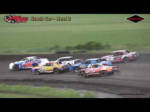 Stock Car Heats - Park Jefferson Speedway - 6/30/18