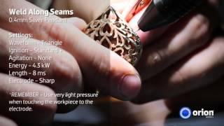 Repair Silver Pendant - Jewelry Welding