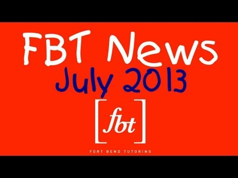 FBT News: The Big Secret about College Algebra! [fbt]