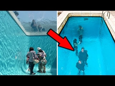 Yüzmek İsteyeceğiniz En Sıradışı 8 Havuz