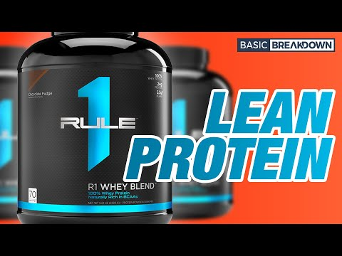 Rule 1 R1 Whey Blend Protein Powder Supplement Review | Basic Breakdown