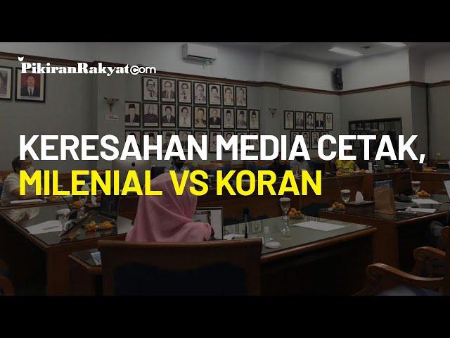 Keresahan Dihadapi Media Cetak, Apakah Milenial Masih Tertarik Membaca Koran?