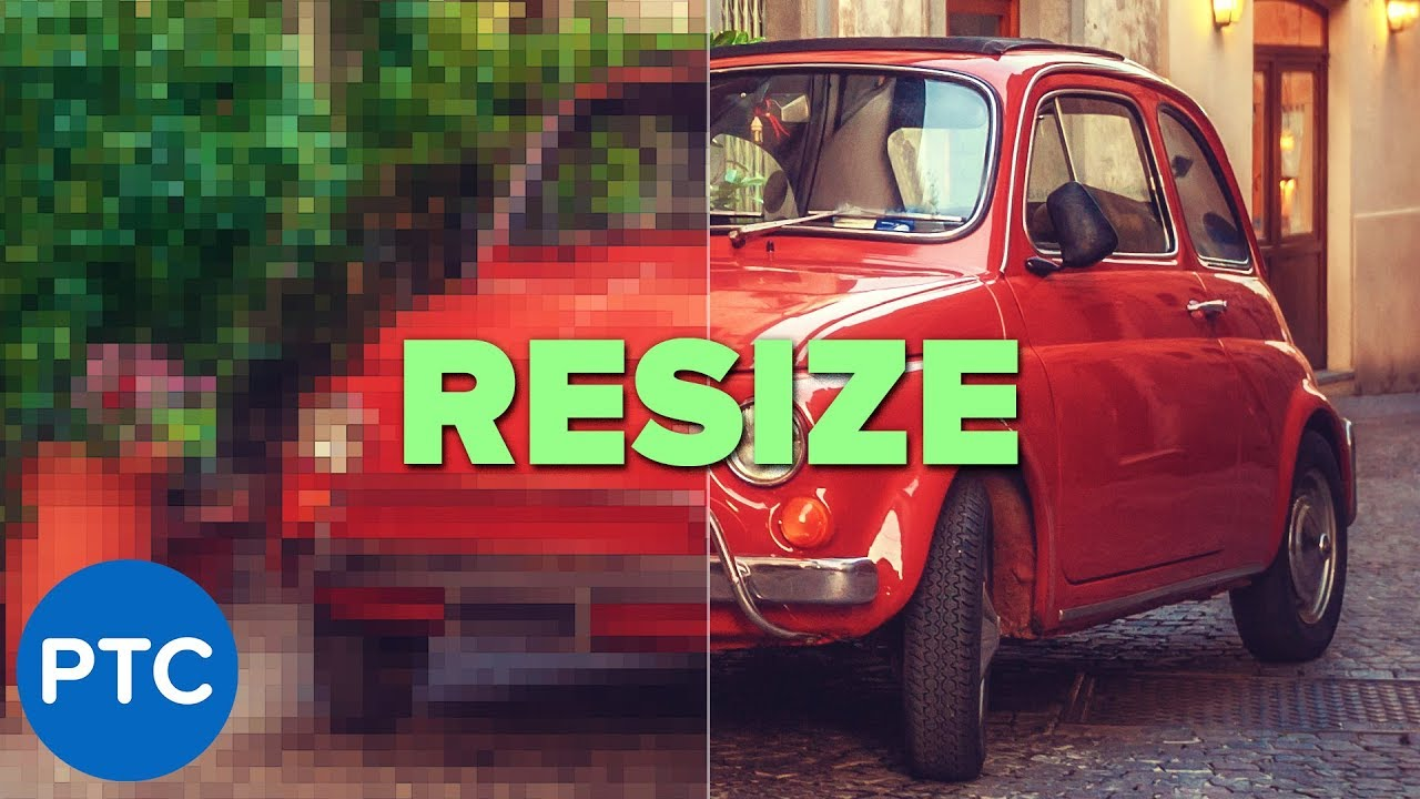 BEST WAY To Resize Photos & Illustrations Without Losing