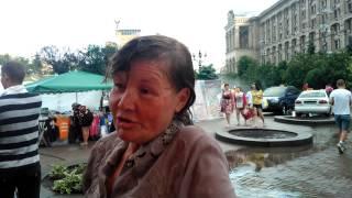 Интервью на Майдане