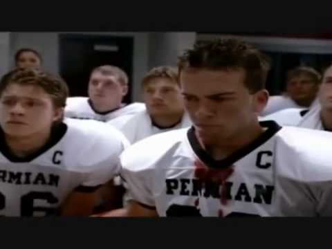Friday Night Lights Half Time Speech Movie Footage Youtube