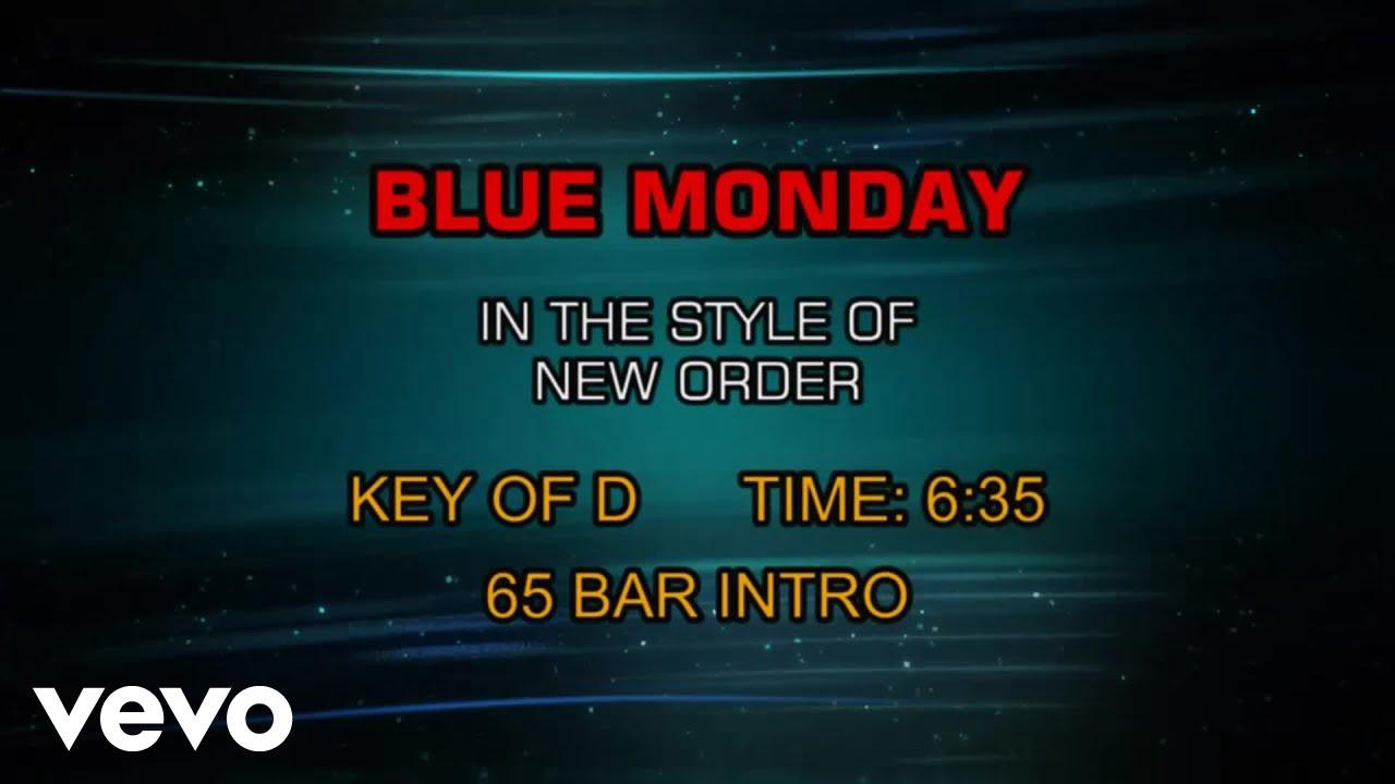 New Order - Blue Monday (Karaoke)