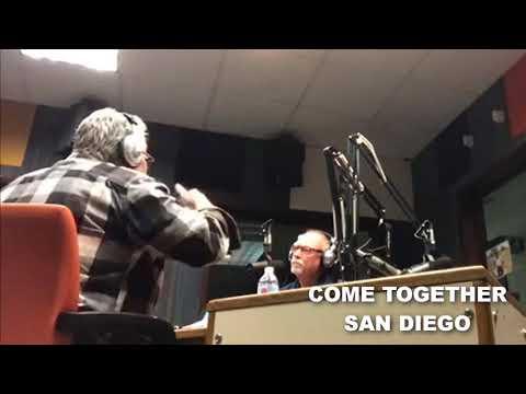 Come Together San Diego Radio Mar 10 Live Stream hour 1