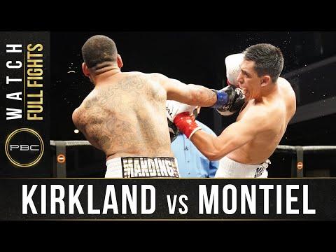 Хуан Масиас Монтьель – Джеймс Киркланд / Montiel vs. Kirkland