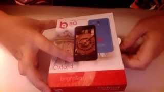 Обзор смартфона BQ BQS-4001 Oxford.