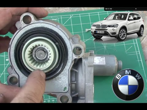 Bmw X3 E83 Diy Actuator Solenoid Gear Replace On Transfer Case