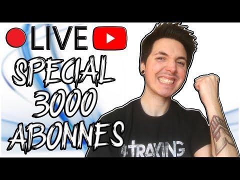 YU-GI-OH! LIVE SPÉCIAL 3000 ABONNÉS !!