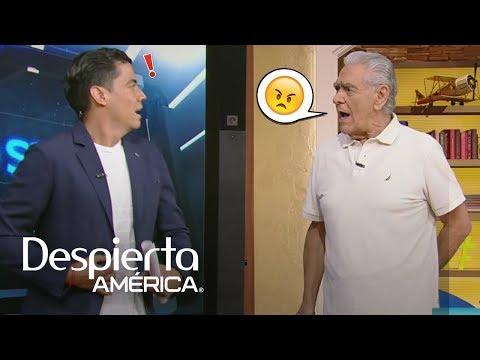 Eric del Castillo sorprendió a Orlando hablando de su hija Kate
