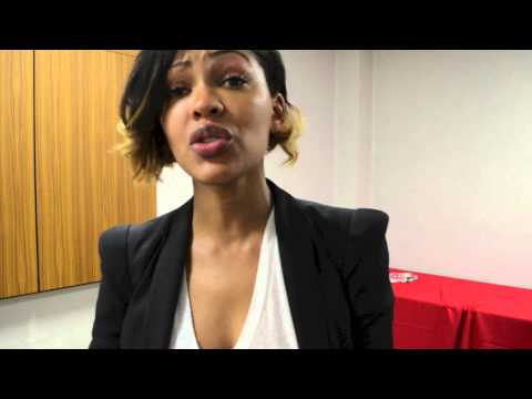 Meagan Good's Advice Young Ladies - YouTube