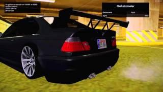 """GTA Sa Turkey Mod """"BMW M3"""" Modifiye (Drıft Yapmaya Çalıştık :D)"""