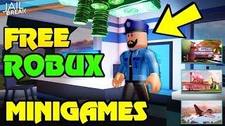 🔴 NEUE UPDATE + NEUE CODES | KOSTENLOSE ROBUX GIVEAWAY! | Roblox Jailbreak MINIGAMES... (Gewinner erhalten ROBUX)