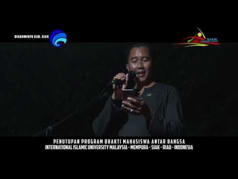 Closing Ceremoni IIUM International Islamic University Malaysia - Kabupaten Siak - Riau - Indonesia