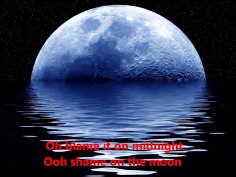 Bob Seger Shame On The Moon  With Lyrics