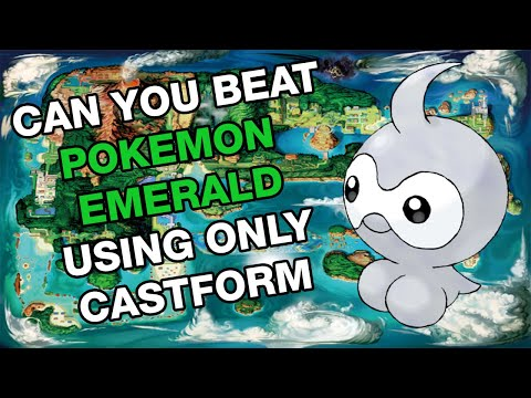Can You Beat Pokemon Emerald Using Only Castform?