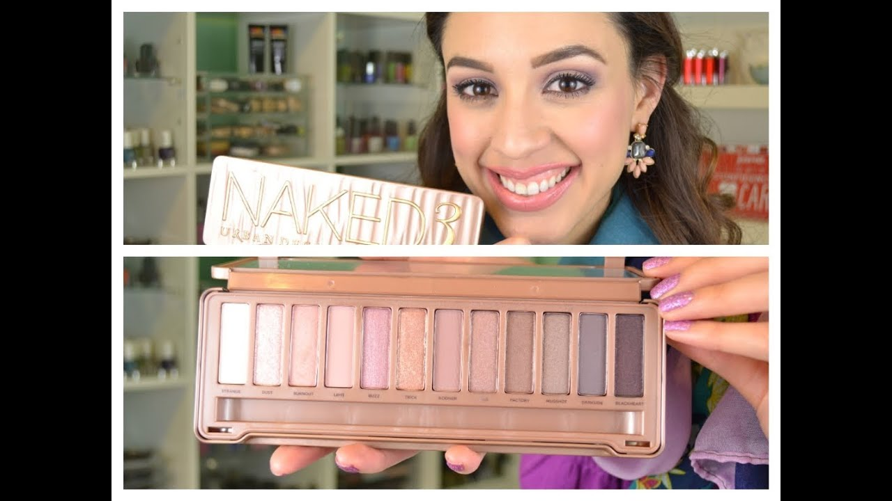 Urban Decay Naked 3 Palette Review + Swatches - YouTube