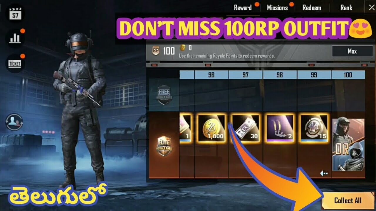 Dont Miss 100rp Outfit In Season 7 Best Method To Get 100rp Outfit In Pubg Mobile