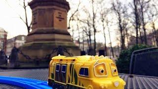 【xe lửa đồ chơi 】Chuggington CS-08 Mtambo @ Lange Voorhout, Den Haag, Hà Lan00869 vn