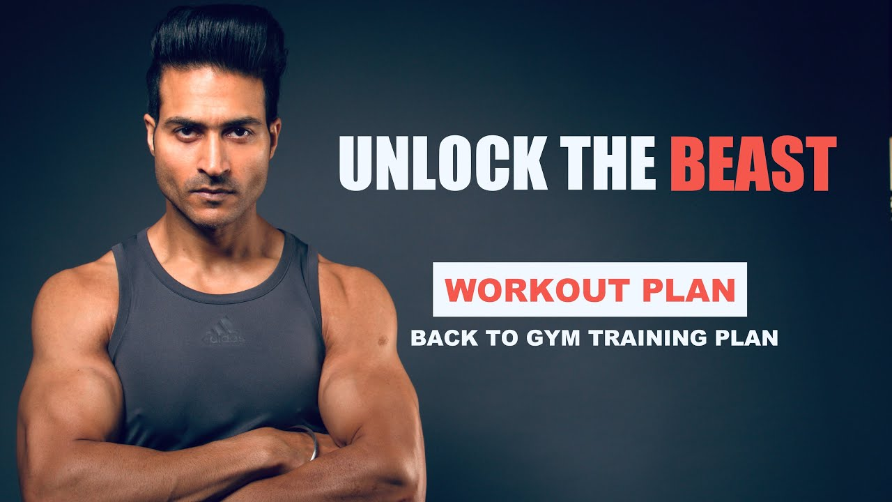 UNLOCK THE BEAST - Muscle Building & Fat Loss Workout program by Guru Mann