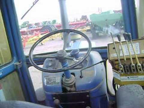 MOV02589 Tractor Ford 6610 con Desvaradora $18,600 Dlls.