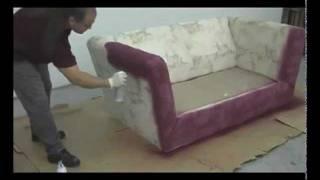 Como pintar sofá