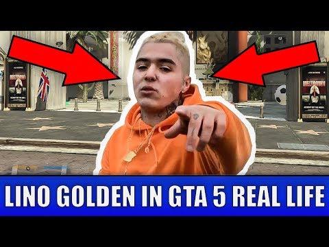 LINO GOLDEN IN GTA 5 REAL LIFE - Vreau sa-mi iau un panameraaaaaa!