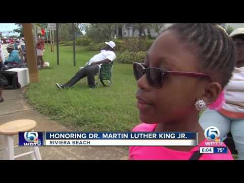 Honoring Dr. Martin Luther King, Jr. in Riviera Beach