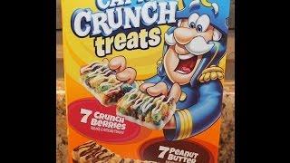 Cap'n Crunch Treats: Peanut Butter Review