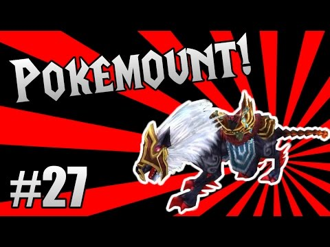 Order & Chaos Online - Pokemount! #27 - Abyss Charging Undead Dog!