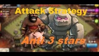 Clash Of Clans Attacks | Combo GoHo Attack War Strategy Townhall 8