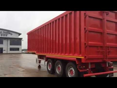 New Steel body tipping trailer newton trailers.com