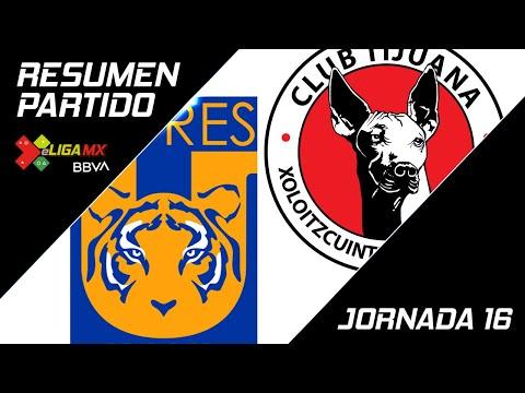 Resumen | Tigres UANL 0 - 3 Tijuana | eLiga MX - Clausura 2020 - Jornada 16 | LIGA BBVA MX