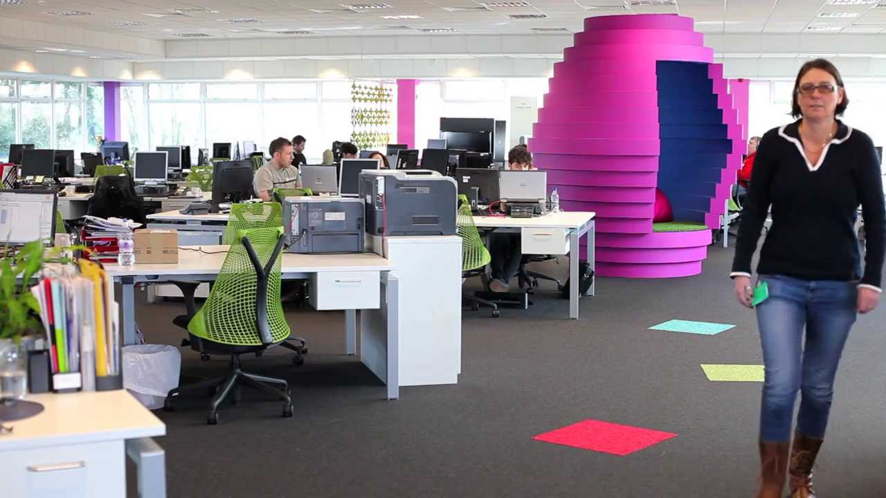 funky office design. Funky Office Meeting Pod, Circular Quiet Area Review - YouTube Design