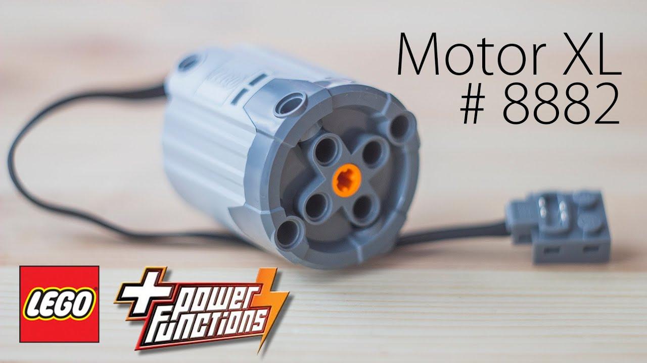 LEGO Technic. Power Functions. # 8882. Motor XL. - YouTube