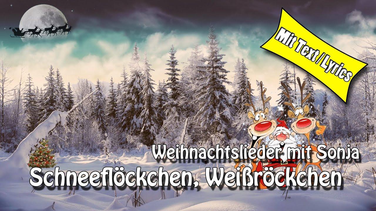 Schneeflöckchen Weißröckchen Lyrics