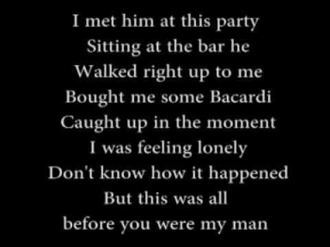 you are my man lyrics: