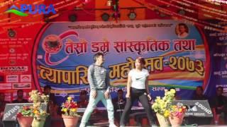Nira Jaile Risaune 720HD || Nepali Movie Song || Purano Dunga || Dumre Festival Third Saroj & Puspa