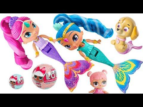 Shimmer and Shine Mermaid Dolls