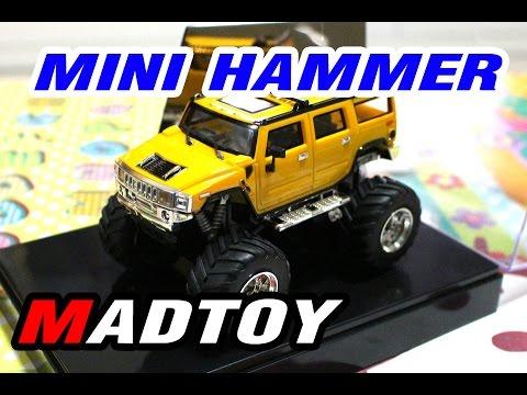 ขายรถบังคับ MINI HAMMER มีปุ่มเทอร์โบ 590บาท MADTOY