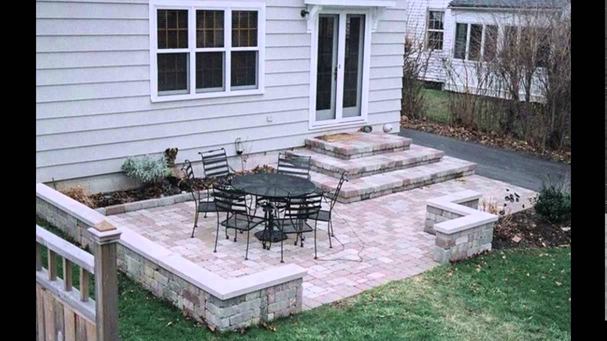 Patio Design Ideas | Concrete Patio Design Ideas | Small ... on Backyard Masonry Ideas id=13519