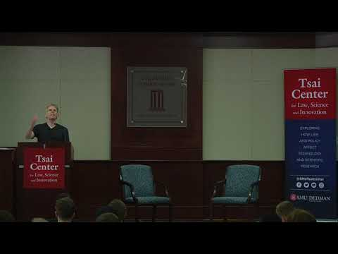 John Carmack speaks at SMU Dedman School of Law's Tsai Center Innovation Lecture 3/21/2018