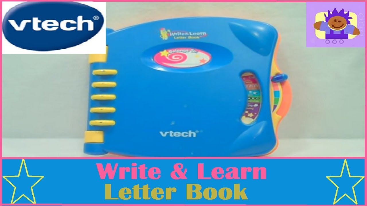 vtech write and learn abc letter book educational toy youtube